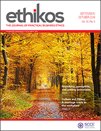 Ethikos — The Journal of practical business ethics