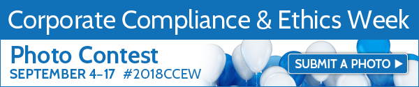 Corporate Compliance & Ethics Week. Photo Contest September 4-17 | Submit a Photo >