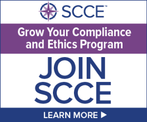 Grow your compliance and ethics program   Join SCCE   Learn More >